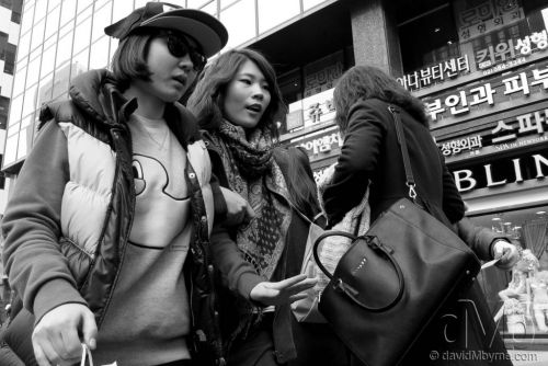 On the streets of Gangnam, Seoul. February 25th 2013 (Canon PowerShot G15)