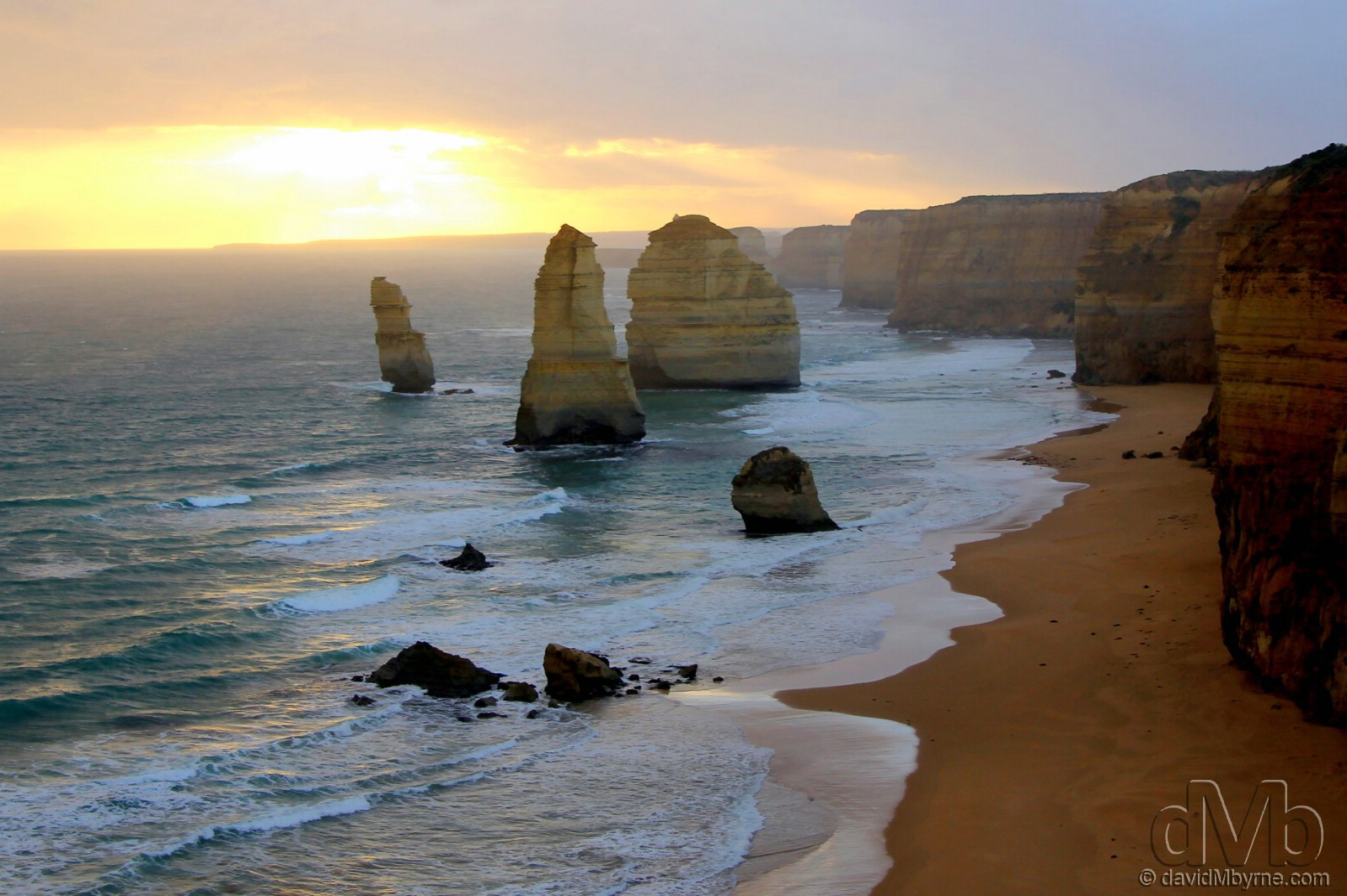 The Twelve Apostles of the Great Ocean Road, Victoria, Australia. April 22nd, 2012.