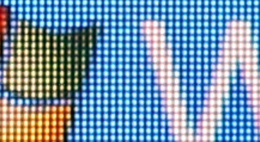 Tamron Lens at 400% zoom