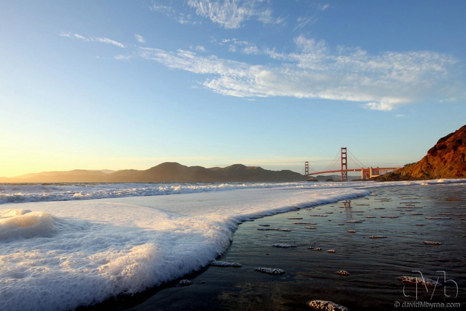 Baker Beach, San Francisco, California, USA. April 10th, 2013.