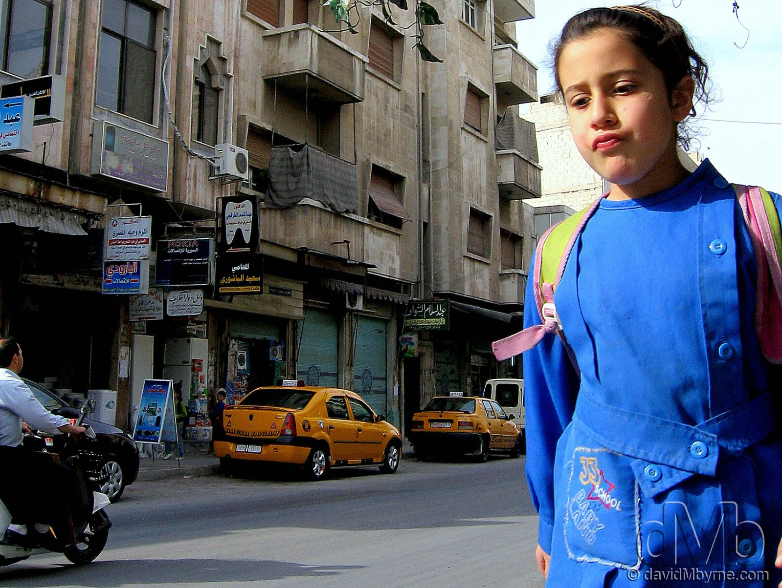 On the streets of Hama, Syria. May 7th, 2008.